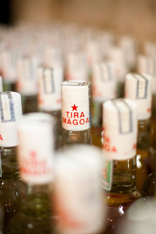 Jequeri_MG, Brasil...Rota Imperial. Na foto detalhe de garrafas de cachaca em Jequeri, Minas Gerais...The Royal-Imperial Route. In this photo cachaca bottles in Jequeri, Minas Gerais...Foto: BRUNO MAGALHAES / NITRO