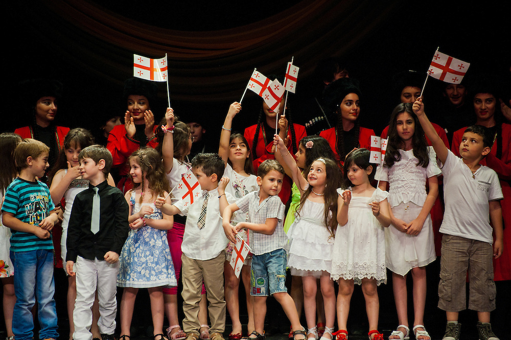 Concert of the Georgian community in Athens celebrating the Georgian Independence Day. <br />
