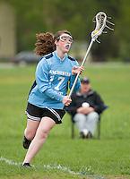 Lakes Region Lacrosse U15 girls versus Manchester  May 21, 2011.