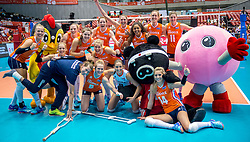 18-05-2016 JAP: OKT Nederland - Dominicaanse Republiek, Tokio<br /> Nederland is weer een stap dichterbij kwalificatie voor de Olympische Spelen. Dit dankzij een 3-0 overwinning op de Dominicaanse Republiek