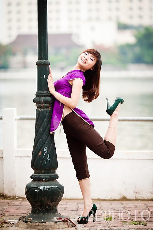 Vietnamese Promotional Girls