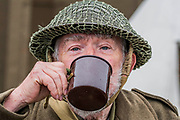 Home Guard re-enactors - The Duxford Battle of Britain Air Show is a finale to the centenary of the Royal Air Force (RAF) with a celebration of 100 years of RAF history and a vision of its innovative future capability.