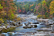 Autumn colors along Wilson Creek, located in the Wilson Creek Gorge near Blowing Rock