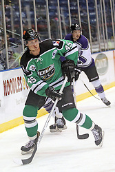 15 November 2013:  Adam Stuart. Louisiana IceGators at Bloomington Thunder Southern Professional Hockey League (SPHL) at the U.S. Cellular Coliseum in Bloomington Illinois