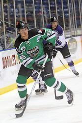 15 November 2013:  Adam Stuart. Louisiana IceGators at Bloomington Thunder Southern Professional Hockey League (SPHL) at the U.S. Cellular Coliseum in Bloomington Illinois