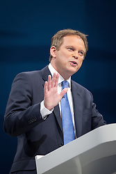 © Licensed to London News Pictures . 29/09/2013 . Manchester , UK . Conservative Party Chairman , GRANT SHAPPS , addresses the conference . Day 1 of the Conservative Party Conference at Manchester Central . Photo credit : Joel Goodman/LNP
