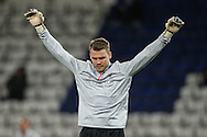 Simon Mignolet of Liverpool during the Premier League match at the King Power Stadium, Leicester<br /> Picture by Andy Kearns/Focus Images Ltd 0781 864 4264<br /> 27/02/2017
