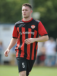 Dan Crowie, Kettering Town, , Kettering Town v Aylesbury Utd, Southern League, Burton Park, Kettering, 9th August 2014