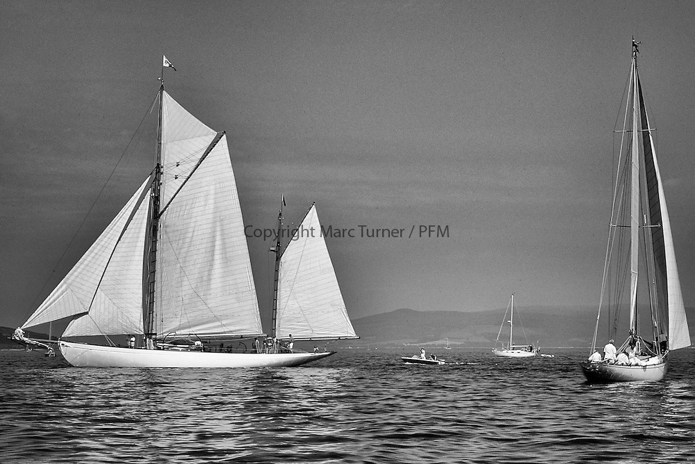 Fife Regatta 1998..Kentra, Saturday Morning Start