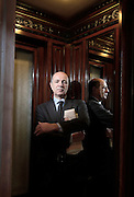 Milano, Corrado Passera, consigliere delegato Intesa San Paolo , Corrado Passera, CEO of the Intesa Sanpaolo banking group, was named to head the new ministry of development, infrastructure and transport, of the Italian governemt headed by Mario Monti.