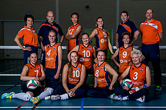 20170922 NED: Portret zitvolleybalsters Oranje 2017-2018, Leersum