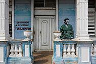 Image of Ernesto Che Guevara in Santa Cruz del Norte, Mayabeque, Cuba.