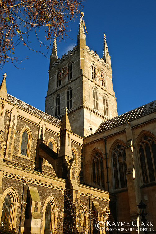 Southwark Cathedral in London, England, United Kingdom.