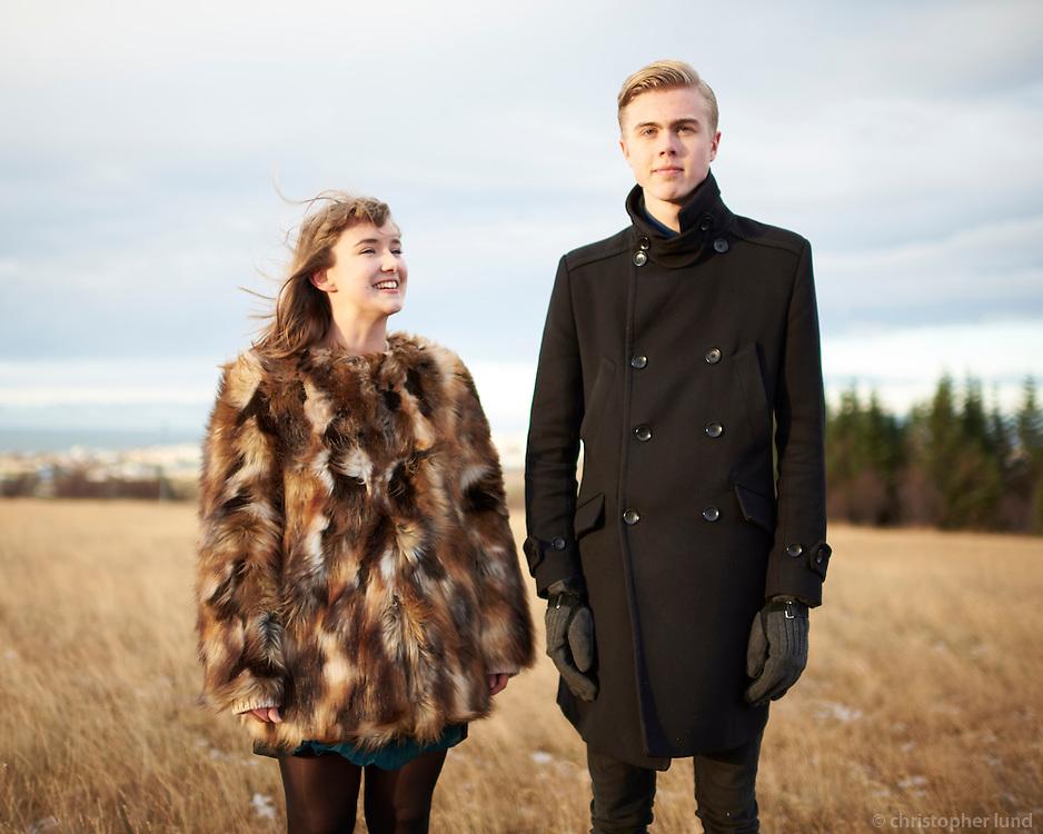 Baldvin Snær & Halldóra - myndataka fyrir diskinn Við Vatnsenda