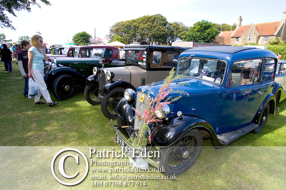 Classic car Old Gaffers festival C;assic Car Show Photographs of the Isle of Wight by photographer Patrick Eden photography photograph canvas canvases