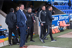 St Johnstone manager Tommy Wright and Aberdeen manager Derek McInnes at the start. St Johnstone 1 v 2 Aberdeen. SPFL Ladbrokes Premiership game played 15/4/2017 at St Johnstone's home ground, McDiarmid Park.