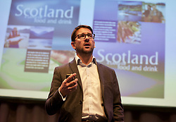 James Withers, CEO of Scotland Food and Drink, speaking at its AGM at the Assembly Rooms, Edinburgh. Pic: Terry Murden @edinburghelitemedia