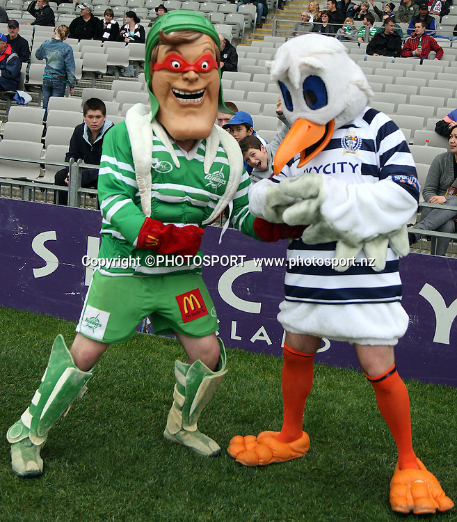Auckland and Manawatu Mascots, <br />