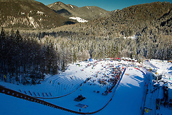 Hill during 11th Women FIS Ski Jumping World Cup competition in Planica replacing Ljubno  on January 25, 2014 at HS95, Planica, Slovenia. Photo by Vid Ponikvar / Sportida