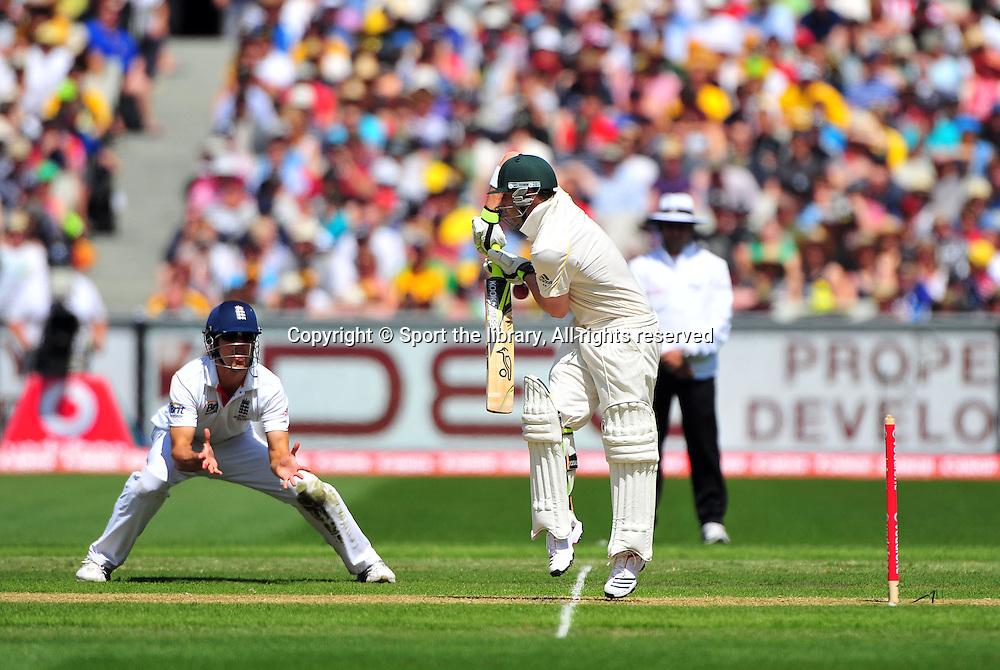 Phil Hughes (AUS)<br /> Australia vs England<br /> Cricket - Ashes Test 3 / Melbourne<br /> Melbourne Cricket Ground / MCG<br /> Sunday 26 December 2010<br /> &copy; Sport the library/Jeff Crow