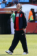 23 JUN 2010:   Michael Bradley (USA) prior to the match.  The United States National Team played the Algeria National Team at Loftus Versfeld Stadium in Tshwane/Pretoria, South Africa in a 2010 FIFA World Cup Group C match.