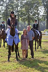 D' Haeyere Tom (BEL) - Favorite van de Kapel<br /> Nationaal Kampioenschap Jonge Paarden Merksplas 2011<br /> © Dirk Caremans