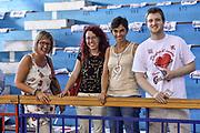 DESCRIZIONE : Campionato 2014/15 Serie A Beko Grissin Bon Reggio Emilia -  Dinamo Banco di Sardegna Sassar Finale Playoff Gara1<br /> GIOCATORE : Tifosi Pubblico Spettatori<br /> CATEGORIA : Tifosi Pubblico Spettatori Before Pregame<br /> SQUADRA : Grissin Bon Reggio Emilia<br /> EVENTO : LegaBasket Serie A Beko 2014/2015<br /> GARA : Grissin Bon Reggio Emilia - Dinamo Banco di Sardegna Sassari Finale Playoff Gara1<br /> DATA : 14/06/2015<br /> SPORT : Pallacanestro <br /> AUTORE : Agenzia Ciamillo-Castoria/GiulioCiamillo