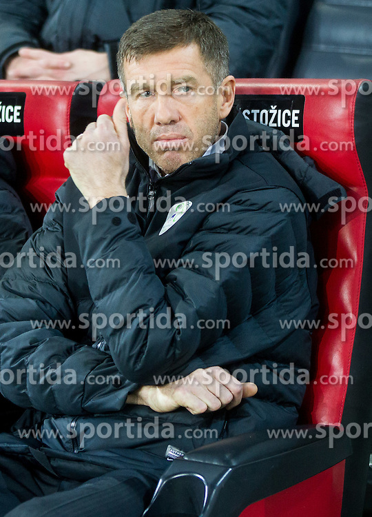Srecko Katanec, head coach of Slovenia during football match between NationalTeams of Slovenia and San Marino in Round 5 of EURO 2016 Qualifications, on March 27, 2015 in SRC Stozice, Ljubljana, Slovenia. Photo by Vid Ponikvar / Sportida