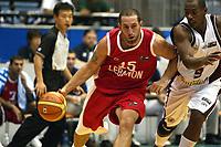 Basketball<br /> VM 2006<br /> Foto: Dppi/Digitalsport<br /> NORWAY ONLY<br /> <br /> BASKETBALL - FIBA WORLD CHAMPIONSHIP 2006 - SENDAI (JAP) - 19/08/2006<br /> <br /> VENEZUELA V LIBANON WINNER / 72-82 - FADI EL KHATIB (LIB) - OSCAR TORRES (VEN)