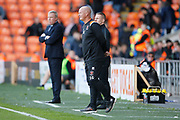 Simon Grayson Manager of Blackpool during the EFL Sky Bet League 1 match between Blackpool and Portsmouth at Bloomfield Road, Blackpool, England on 31 August 2019.