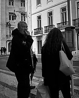 Street Photography. Afternoon walkabout in Lisbon. Image taken with a Leica CL camera and 23 mm f/2 lens.