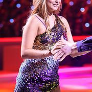 NLD/Hilversum/20130119 - 4e Liveshow Sterren Dansen op het IJs 2013, Gaby Blaaser