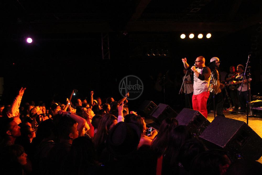 Rebel Souljahz performing at FallFest '13 at Showbox SODO.
