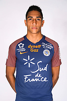 Bryan Passi during photoshooting of Montpellier Herault  for new season 2017/2018 on September 3, 2017 in Montpellier<br /> Photo : Mhsc / Icon Sport