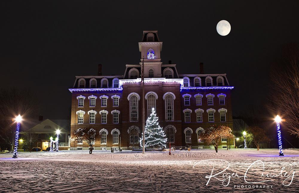 Vermont College of Fine Arts in Montpelier Vermont. College Hall