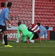 Thomas Konrad scores Dundee's second goal - Sheffield United v Dundee, pre season friendly at Bramall Lane<br /> <br />  - &copy; David Young - www.davidyoungphoto.co.uk - email: davidyoungphoto@gmail.com