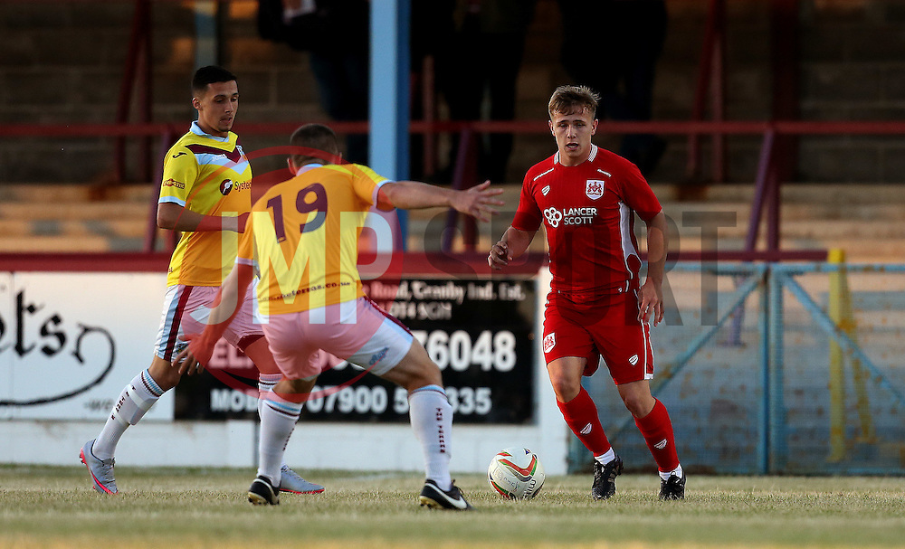 Joesph McNulty of Bristol City Under 21s runs with the ball - Mandatory by-line: Robbie Stephenson/JMP - 13/07/2016 - FOOTBALL - Bob Lucas Stadium - Weymouth, England - Weymouth FC v Bristol City Under 21s - Pre-season friendly