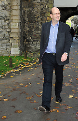 © Licensed to London News Pictures. 18/11/2014<br /> Rochester and Strood By-Election in Kent<br /> Mark Reckless the UKIP candidiate on a walk about in Rochester today (18.11.2014) at Noon.<br /> <br /> (Byline:Grant Falvey/LNP)
