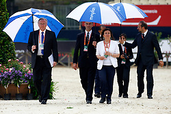 Sven Holmberg, Daniel Holmes and Andrea Paulgross<br /> Meydan FEI Nations Cup - Rome 2010<br /> © Hippofoto - Stefano Grasso