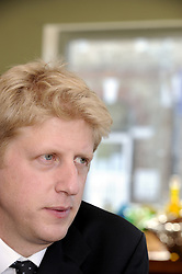 ©  licensed to London News Pictures. .Cray Valley,St Mary Cray,Orpington, UK.06/05/2011.Jo Johnson MP for Orpington and brother of Boris Johnson the mayor of London..Holding his monthly open surgery at The Croft Tea Room,St Mary Cray..Please see special instructions..Picture credit should read Grant Falvey/LNP......
