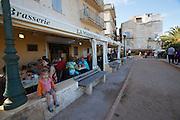 Brasserie La Manichella at Bonifacio's Ville Haute atop the chalky limestone cliffs.