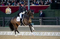 Hughes Gareth, GBR, Don Carissimo<br /> Grand Prix Freestyle  <br /> Royal Windsor Horse Show<br /> © Hippo Foto - Jon Stroud