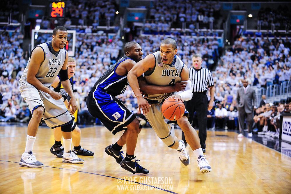 #1 Duke vs. Georgetown at the Verizon Center in Washington, D.C.