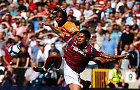 Football Barclays Premiership West Ham's Luis Jimenez on loan fron Inter Milan Michael Mancienne of Wolverhampton Wanderers Wolverhampton Wanderers v West Ham United  at  Molineux Stadium 15/08/2009 Credit: Colorsport / Kieran Galvin