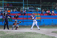 San Juan del Sur , Nicaragua - March 04 , 2018 :Baseball players  playing competition game Rivas