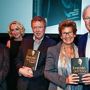 NLD/Amsteram/20121024- Presentatie biografie Joop van den Ende, Vic van der Reijt, Eva Jinek, Herman van Gelder, Janine Klijburg en partner Joop van den Ende