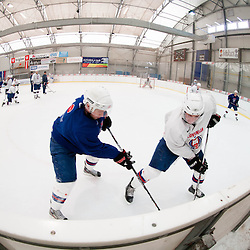 20130328: SLO, Ice Hockey - Practice session of Slovenian Ice Hockey National Team in Kranj