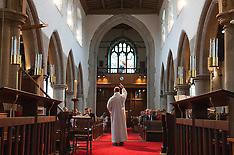 22.03.15 Chloe & Isabel's Christening at St Andrews church, Hornchurch, Essex