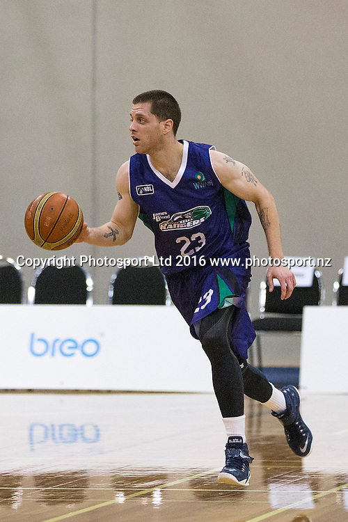 Rangers' Eric Devendorf in a NBL Basketball Match, James Blond Supercity Rangers v Taranaki Mountainairs, AUT North Shore, Auckland, New Zealand, Saturday, March 12, 2016. Copyright photo: David Rowland / www.photosport.nz