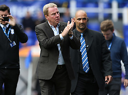 Birmingham City's manager Harry Redknapp applauds the crowd before the match against Bristol City